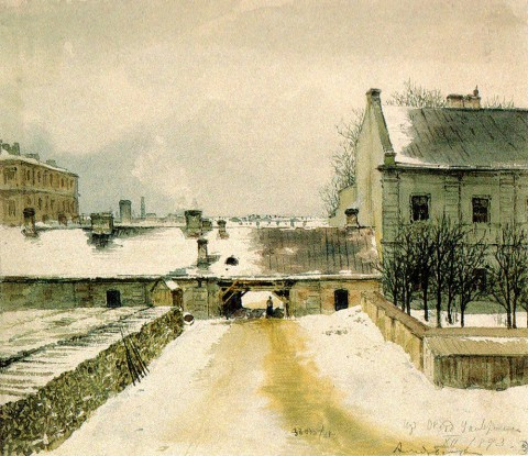 Баганц Ф. Ф., Петербургский двор. 1860 год.