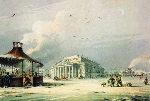 Беггров К. П., Большой театр. Вторая половина 1820-х - 1830-е годы.