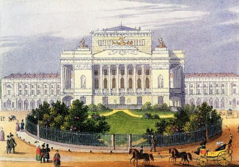 Беггров К. П., Александринский театр. Вторая половина 1820-х - 1830-е годы.