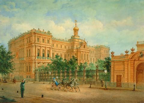 Садовников В. С., Николаевский дворец. 1865 год.