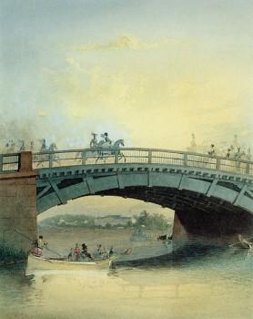 Садовников В. С., Каменноостровский мост через Малую Невку. 1830-е годы.