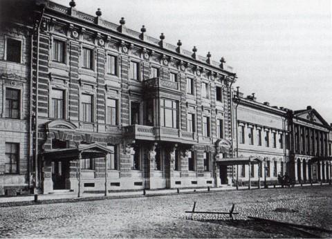 Бианки И. К., Особняк Э. М. Майера на Англйской набережной. 1870-е годы.