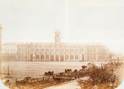 Николаевский вокзал и Лиговский канал, 1870-е годы