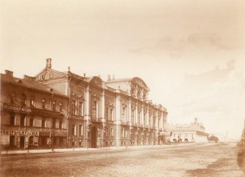 Дворец Белосельских-Белозерских, 1870-е гг.