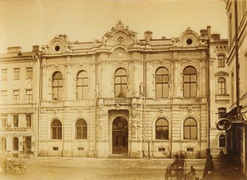 Бианки И. К., Дворец графа Шево, Литейный пр., 42. 1870-е годы (?).