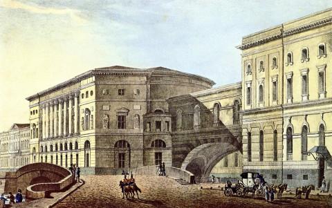 Эрмитажный театр и арка Зимней канавки
