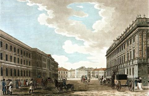 Большая Миллионная улица и Мраморный дворец