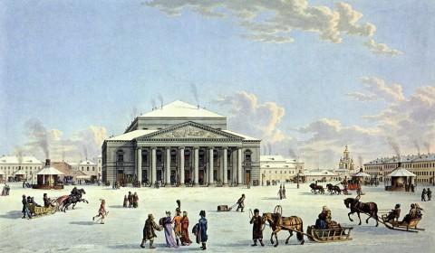 Лори М. Г., Большой театр в Санкт-Петербурге. Начало 1800-х годов.