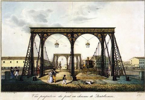Беггров К. П., Пантелеймоновский мост. 1825 год.