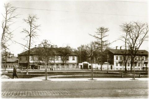 Фотоателье Буллы, Большой проспект. До 1914 года.