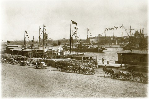 Фотоателье Буллы, Николаевская набережная. Около 1913 года.