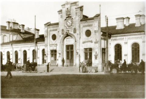 Неизвестный фотограф, Финляндский вокзал. До 1914 года.