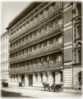 Фотоателье Буллы, Ямская улица. Дом 36. Начало 1900-х годов.