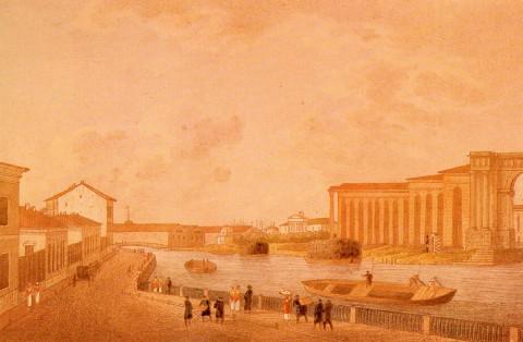 Мартынов А. Е., Новая Голландия. Около 1820 года.