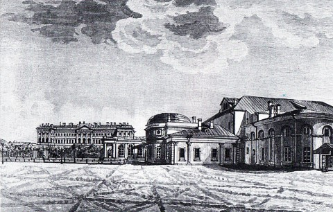 Сабат К. Ф., Петербургский Малый театр. 1820-е годы.