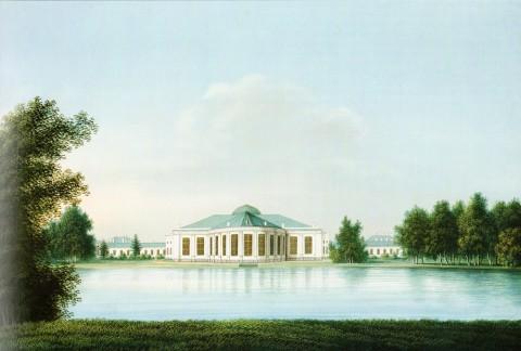 Барт И. В., Таврический дворец. 1816 год.