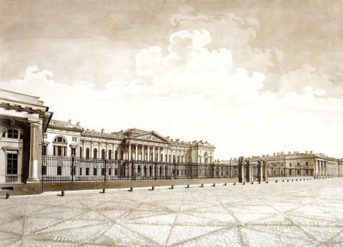 Сабат К. Ф., Михайловский дворец. 1824 год.