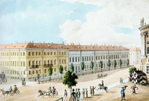 Дом Демидовых, 1820-е годы