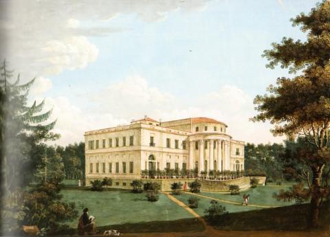 Неизвестный художник, Елагин дворец. Не позднее 1817 года.