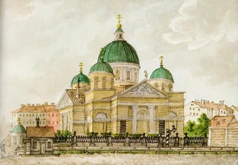 Знаменская церковь, 1886 год