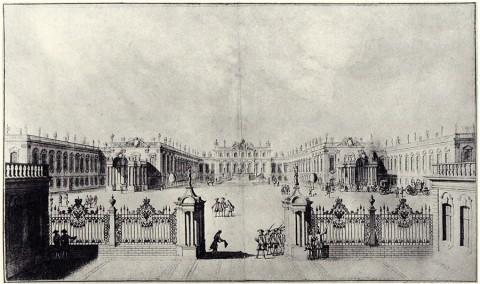 Махаев М. И., Проспект Летняго Ея Императорскаго Величества дому с полуденной стороны. До 1757 года.