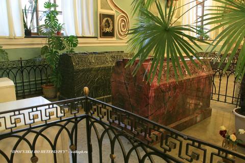 Захоронения Александра II и Марии Александровны. 2008.12.22.