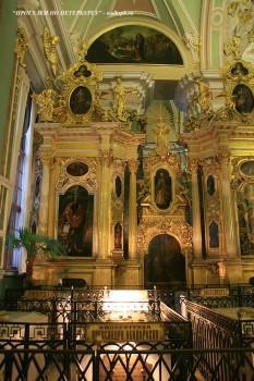 Захоронения в Петропавловском соборе. 2008.12.22.