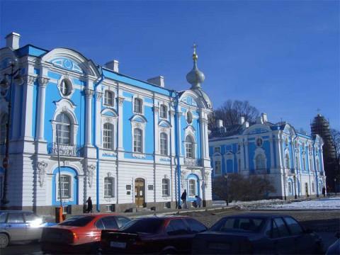 Корпуса Смольного монастыря. 2006.03.18.