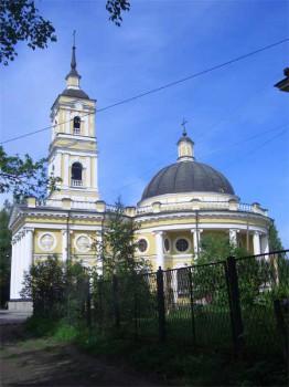 Церковь Илии Пророка и святого князя Александра Невского.