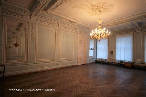 Зал в особняке Э. Кирштена. 2009.02.04.