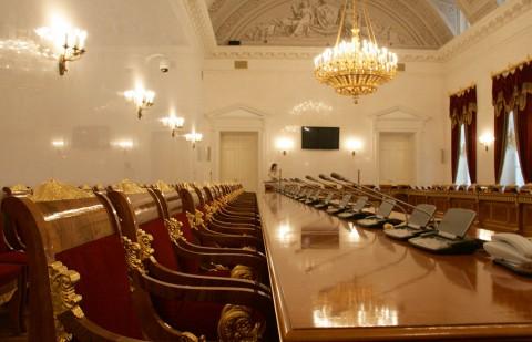 Чернега А.В., В Зале заседаний Сената. 21.02.2012.