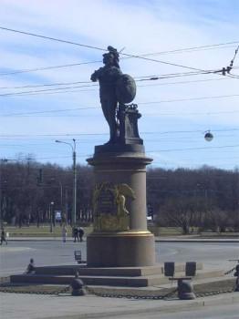 Памятник А. В. Суворову. 2006.04.09.