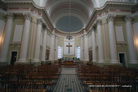 Зал костёла святой Екатерины. 2008.02.18.