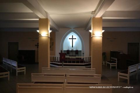 Зал лютеранской церкви святого Михаила. 2008.02.16.
