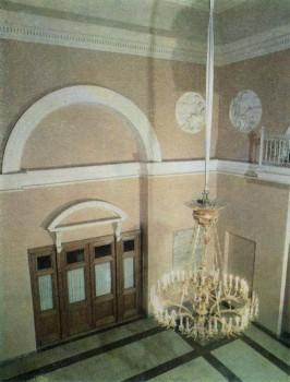 Вестибюль (Парадные сени) в Таврическом дворце.