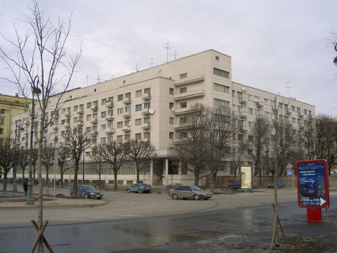 Троицкая пл., 1 (Дом политкаторжан). 2006.03.18.