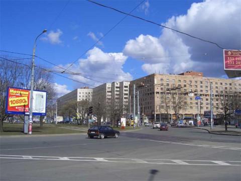 Площадь Мужества. 2007.04.14.
