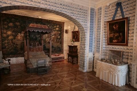 Спальная комната в Меншиковском дворце. 2009.01.24.
