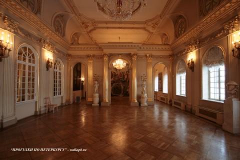 Зал в Меншиковском дворце. 2009.01.24.