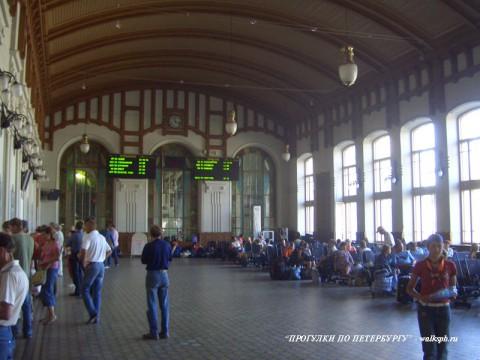 Зал ожидания Витебского вокзала. 2007.08.11.