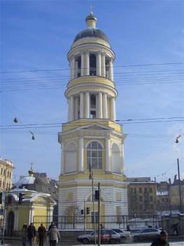 Колокольня Владимирского собора. 2006.02.23.