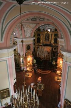 Чернега А.В., Верхняя церковь Владимирского собора, вид с хоров. 10.06.2012.