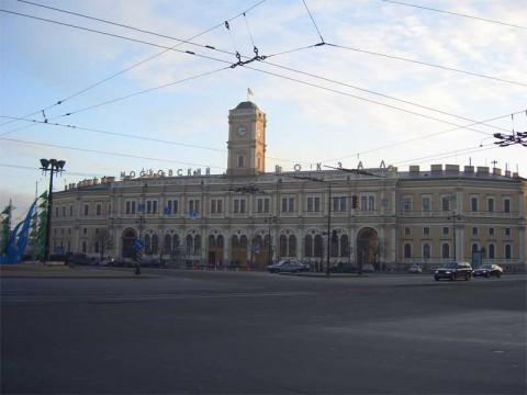 Московский вокзал. 2005.12.11.