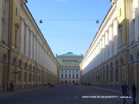 Улица Зодчего Росси. 2006.06.12.