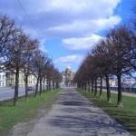 Бульвар на набережной Лейтенанта Шмидта
