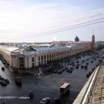 Угол Невского проспекта и Садовой улицы