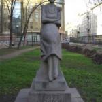 Памятник А. А. Ахматовой