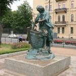 Памятник Петру-плотнику