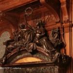 Фрагмент камина в Дубовом зале особняка А. А. Половцова