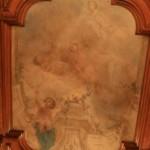 Плафон Детской спальни в особняке А. Ф. Кельха
